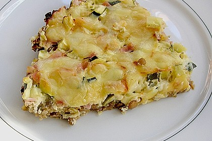 Linsen - Zucchini - Tarte 9
