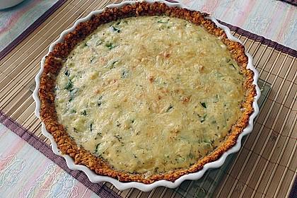 Linsen - Zucchini - Tarte