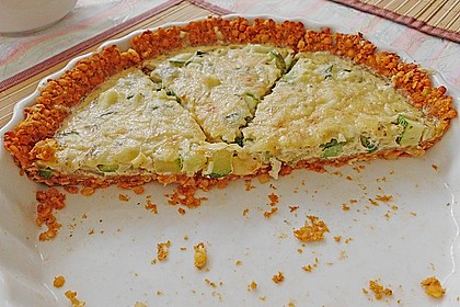 Linsen - Zucchini - Tarte 7