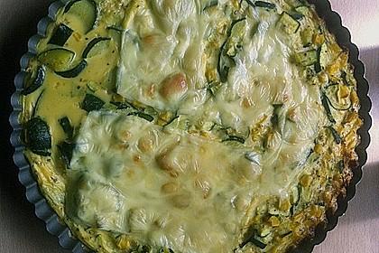 Linsen - Zucchini - Tarte 21