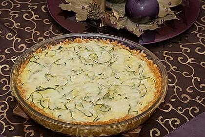 Linsen - Zucchini - Tarte 4