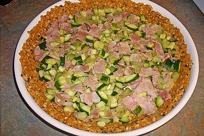 Linsen - Zucchini - Tarte 30