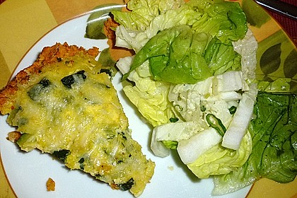 Linsen - Zucchini - Tarte 22