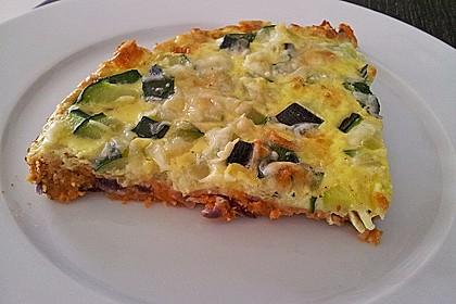 Linsen - Zucchini - Tarte 8