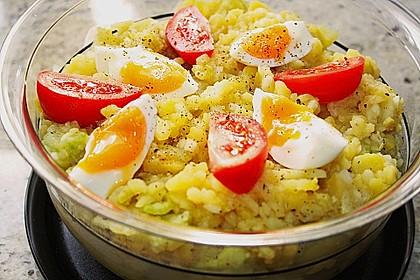 Kartoffelsalat mit Salatgurke 1