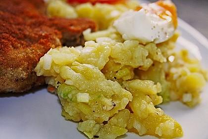Kartoffelsalat mit Salatgurke 3