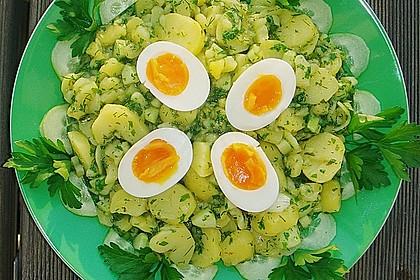Kartoffelsalat mit Salatgurke