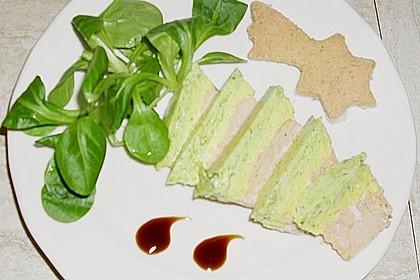 3 - farbige Fischterrine 6