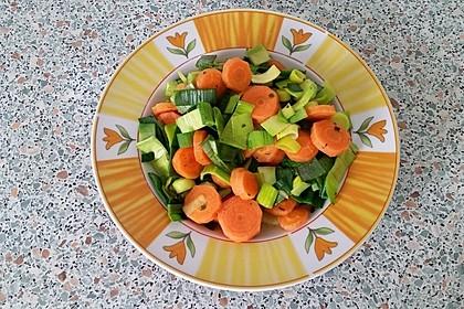 Möhren - Lauch - Salat 1