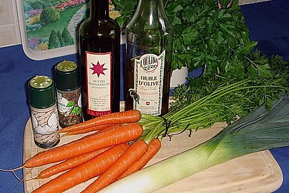Möhren - Lauch - Salat 5