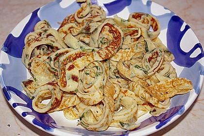 Bärlauchpfannkuchen 1