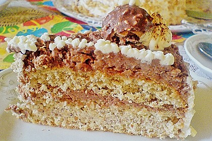 Schoko - Nuss - Sahne - Torte 22