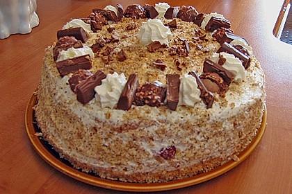 Schoko - Nuss - Sahne - Torte 19