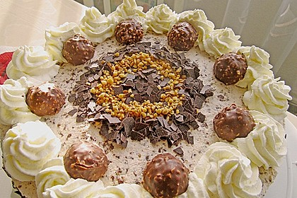 Schoko - Nuss - Sahne - Torte 3