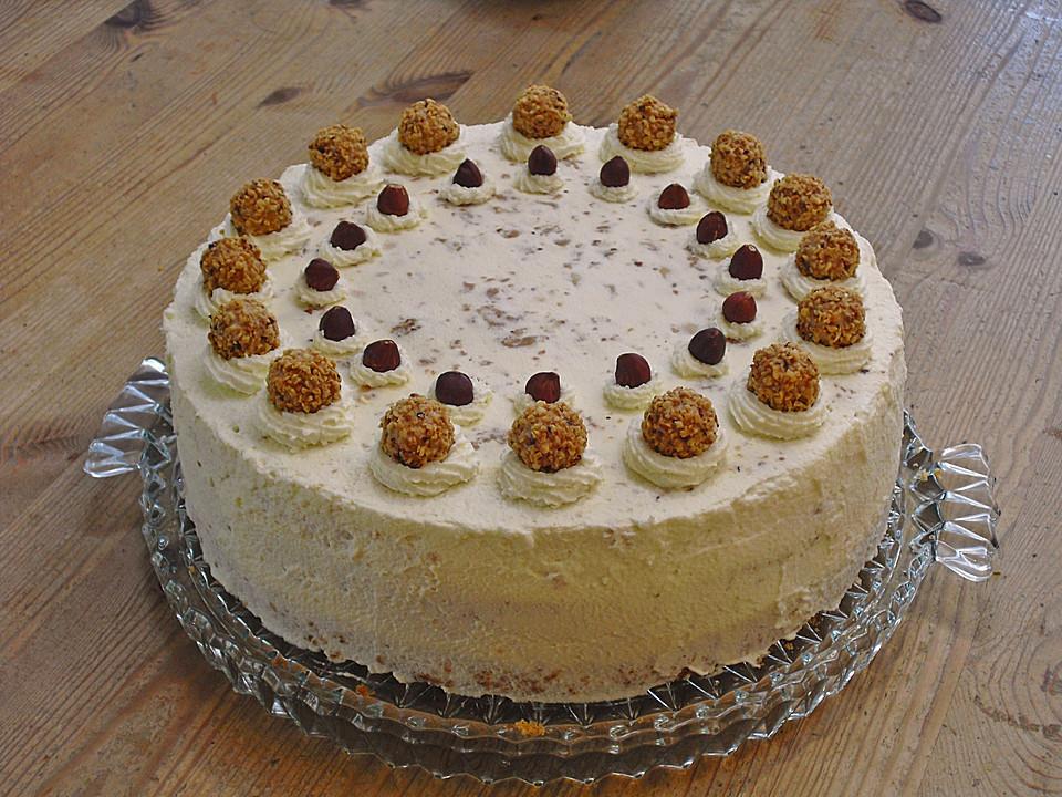 Schoko Nuss Sahne Torte Von Ela Back Chefkoch De