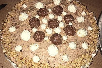 Schoko - Nuss - Sahne - Torte 2