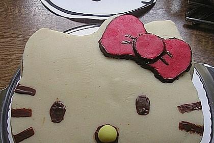 Hello - Kitty - Torte (Bild)