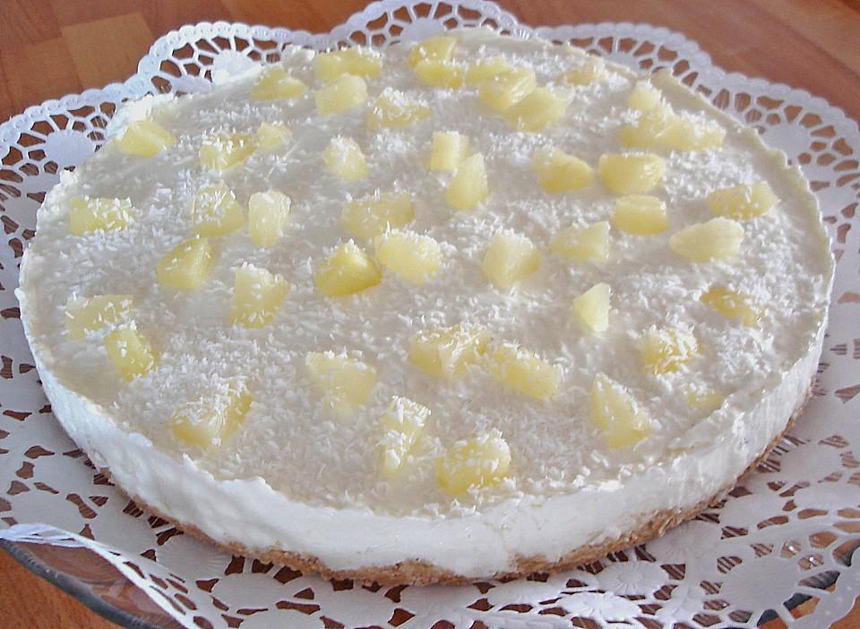 Ananas Kokos Torte Von Feuermohn Chefkoch De