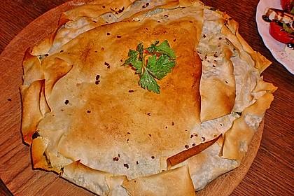 Spinat - Schafskäse - Pastete 2