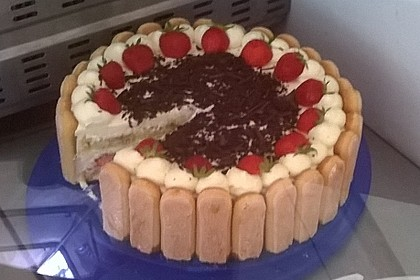 Erdbeer - Tiramisu - Torte 39