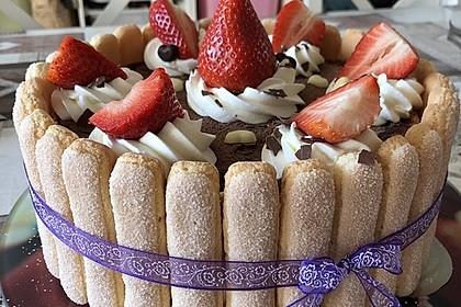 Erdbeer - Tiramisu - Torte 32