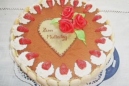 Erdbeer - Tiramisu - Torte 15