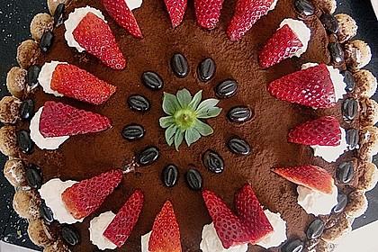 Erdbeer - Tiramisu - Torte 3