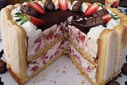 Erdbeer - Tiramisu - Torte 13
