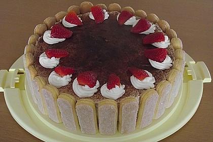 Erdbeer - Tiramisu - Torte 8