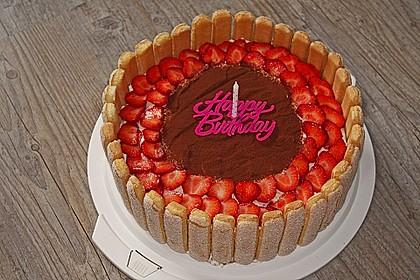 Erdbeer - Tiramisu - Torte 7
