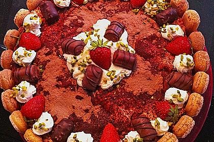 Erdbeer - Tiramisu - Torte 17