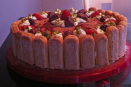 Erdbeer - Tiramisu - Torte 30