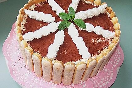 Erdbeer - Tiramisu - Torte 36