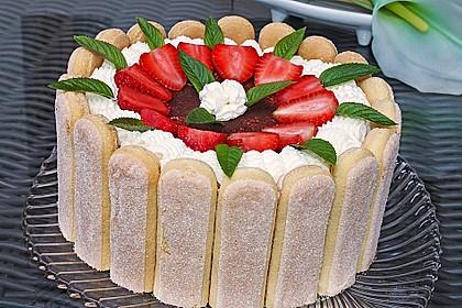 Erdbeer - Tiramisu - Torte 11