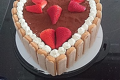 Erdbeer - Tiramisu - Torte 6