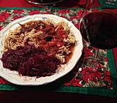 Rotwein - Gulasch (Bild)