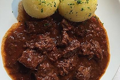 Rotwein - Gulasch