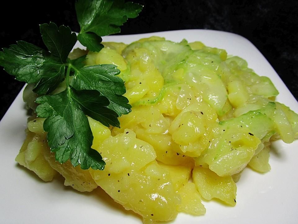 Nickys Bayerischer Kartoffelsalat Mit Gurke Von Nicky0 Chefkoch