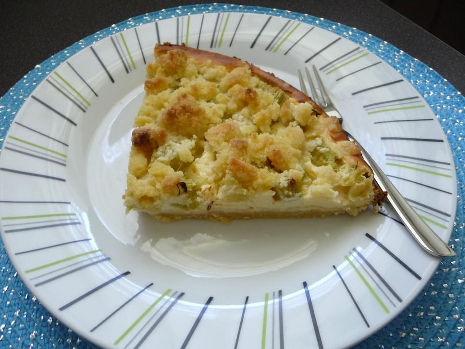 Quark Streusel Kuchen Mit Rhabarber Von Erpa Chefkoch De
