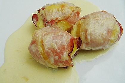 Speckkartoffeln in Käse - Sahne - Sauce 3
