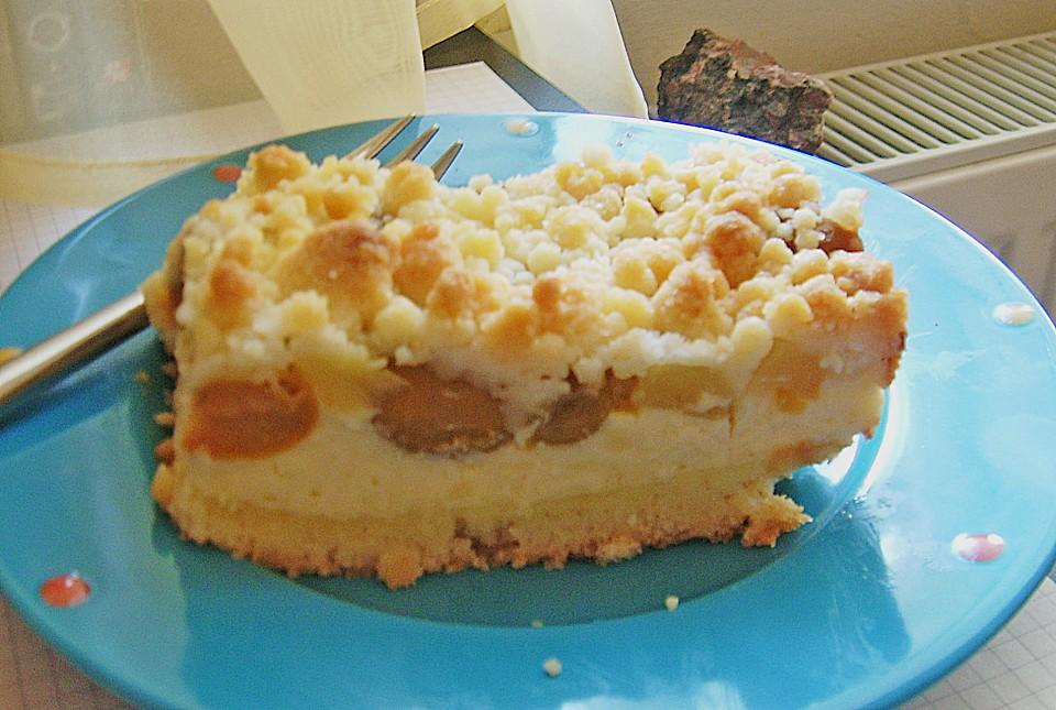 Beeren Streusel Käsekuchen Mit Pudding Von Bwestner Chefkoch