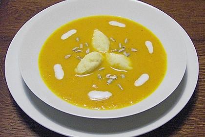 Karotten - Orangenschaum - Süppchen