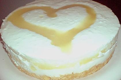 Marmorierte Mango - Joghurt - Torte 6