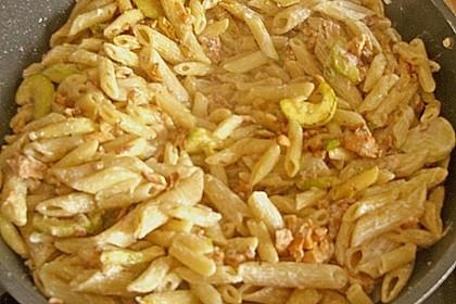 Lachs - Zucchini - Pfanne (Bild)