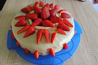 Erdbeer - Marzipan - Torte 3