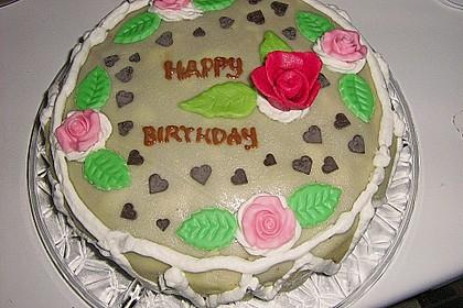 Erdbeer - Marzipan - Torte 26