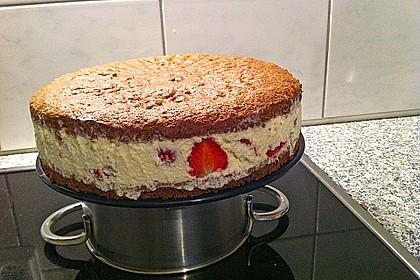 Erdbeer - Marzipan - Torte 45