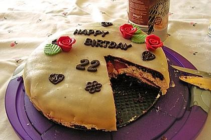 Erdbeer - Marzipan - Torte 36