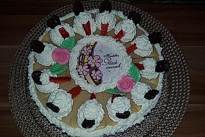 Erdbeer - Marzipan - Torte 11