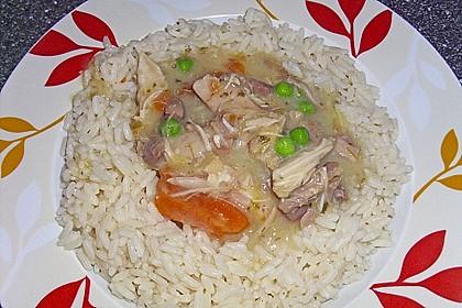 Hühnerfrikassee Grundrezept 5